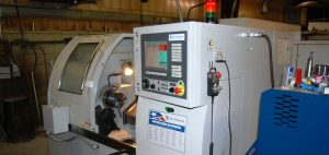 Milltronic SL6 2 axis CNC lathe at Falmer Manufacturing
