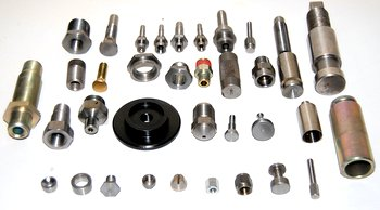 A selection of Screw Machine Products produced at Falmer Manufacturing