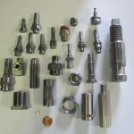 A sample of National Acme multiple spindle screw machine products