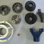 A variety of CNC products produced at Falmer Manufacturing