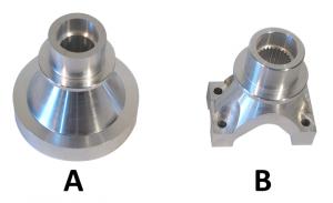 Driveshaft yoke produced by Falmer Manufacturing